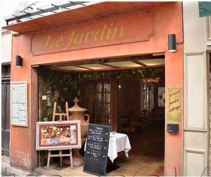 Le jardin site officiel de l 39 office de tourisme d for Antibes restaurant le jardin