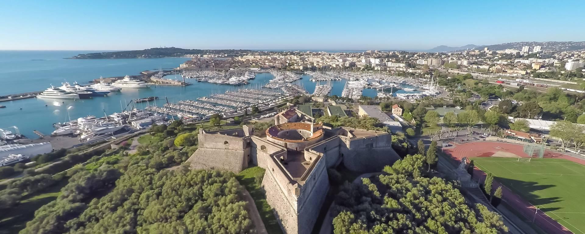 Il Fort Carré ©Mairie d'Antibes -JF Diaz
