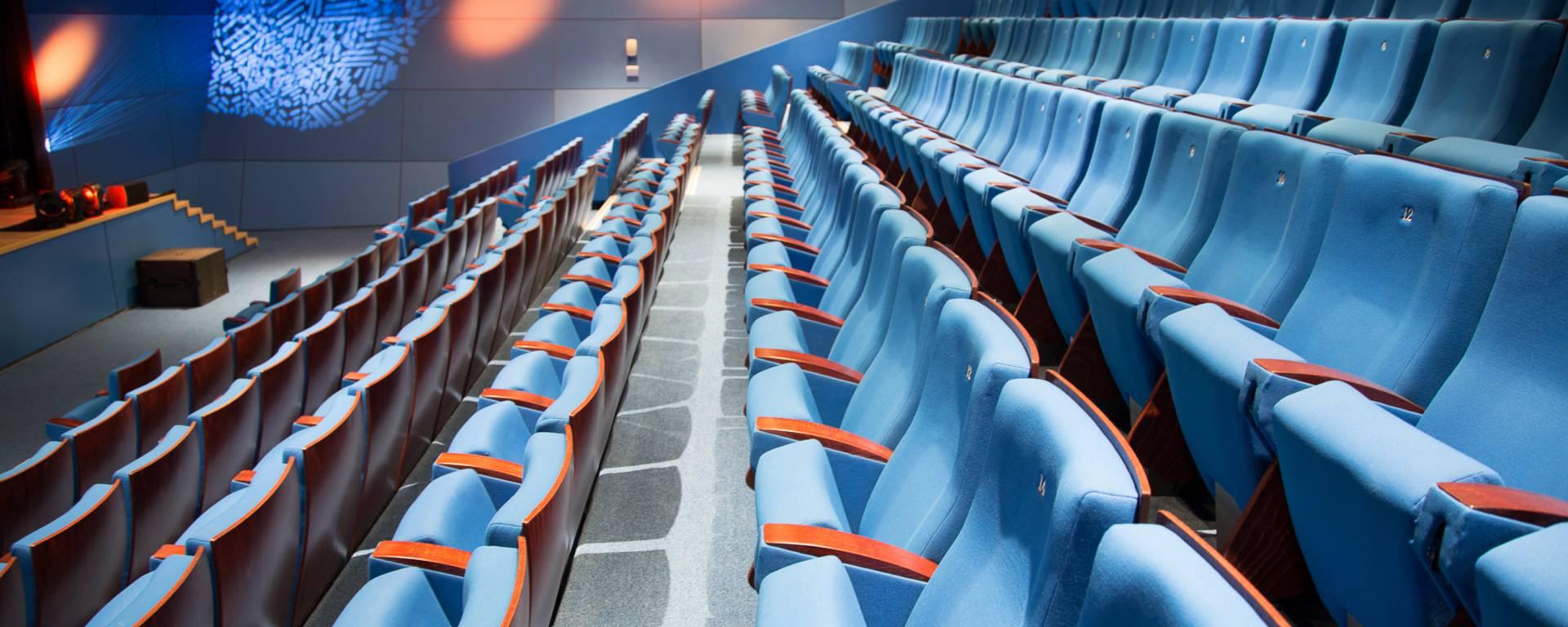 Conference venue, amphitheatre ©P. Ducap