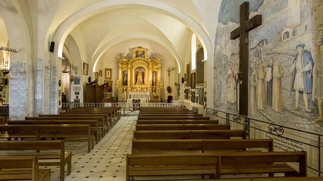 Chapelle de la Garoupe ©Office de Tourisme et des Congrès d'Antibes Juan-les-Pins - Gilles Lefrancq