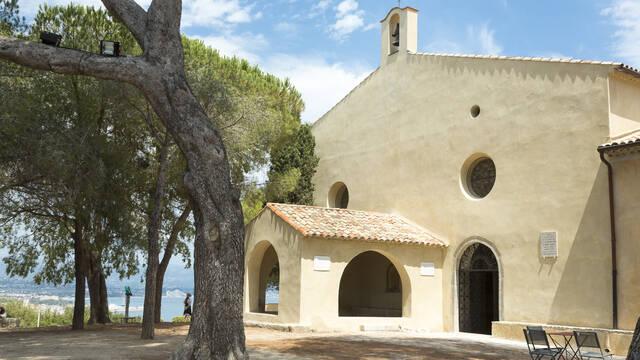 Cappella della Garoupe ©Office de Tourisme et des Congrès d'Antibes Juan-les-Pins - Gilles Lefrancq