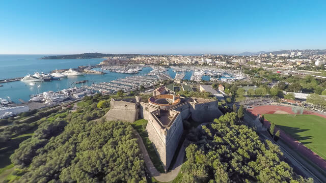 The Fort Carré ©Mairie d'Antibes - JF Diaz