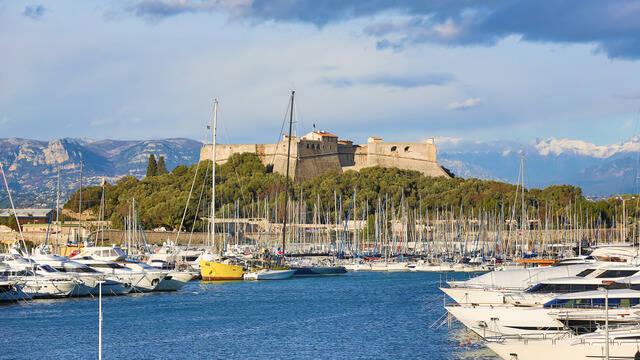 Fort Carré ©Mairie d'Antibes - J. Brosset