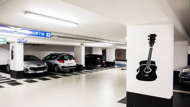 Parking Juan-les-Pins ©Coralie Polack