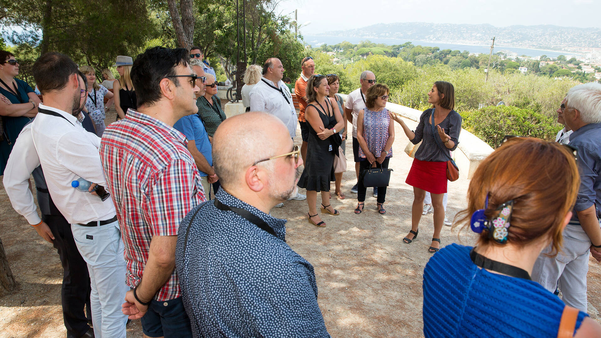 Tour on demand at Cap d'Antibes ©OTC AJLP