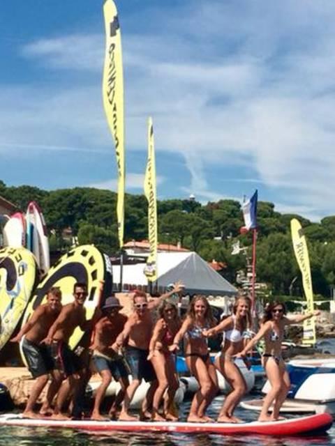 l'équipe de Cap d'Antibes Sport Nautique