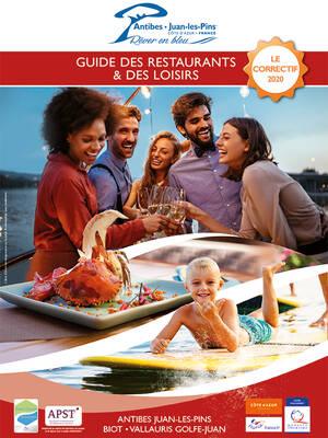 Le guide restaurants et loisirs + le correctif 2020