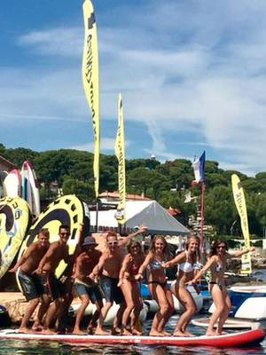 Cap d'Antibes Sport Nautique team
