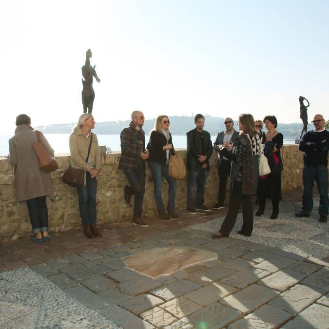 Musée Picasso avec notre guide