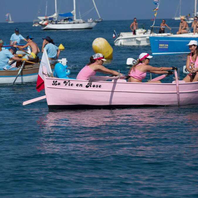 Corsa delle barche da pesca © Mairie d'Antibes-J. Brosset